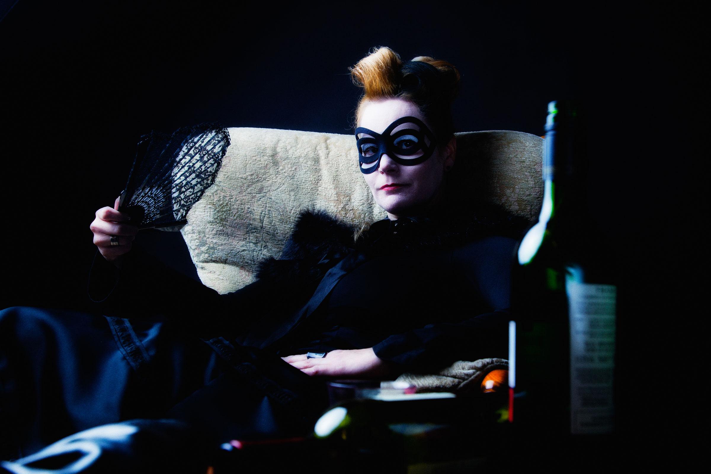 Portret dark glamour 3 door Juri Hiensch