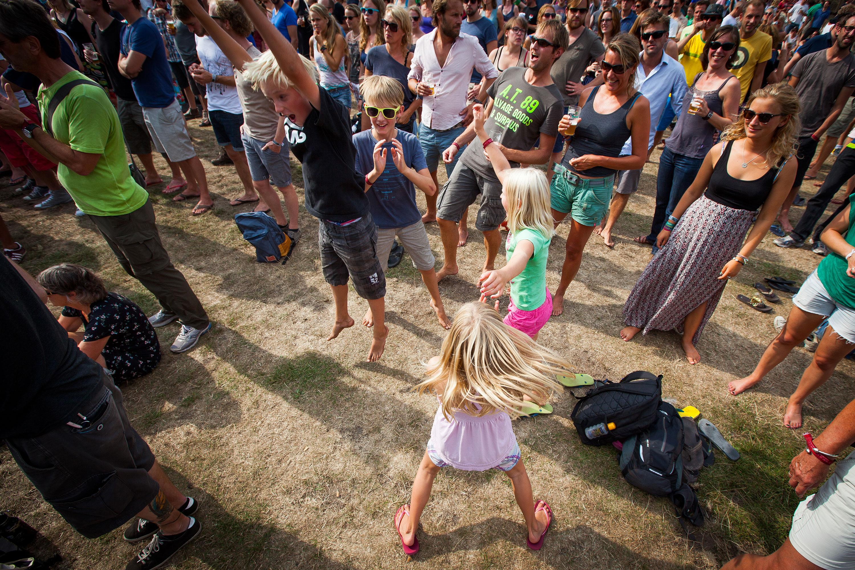 Kids @ Into The great Wide Open door Juri Hiensch