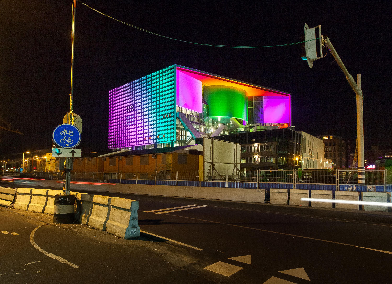 Gebouw tijdens de ingebruikname van TivoliVredenburg door Juri Hiensch