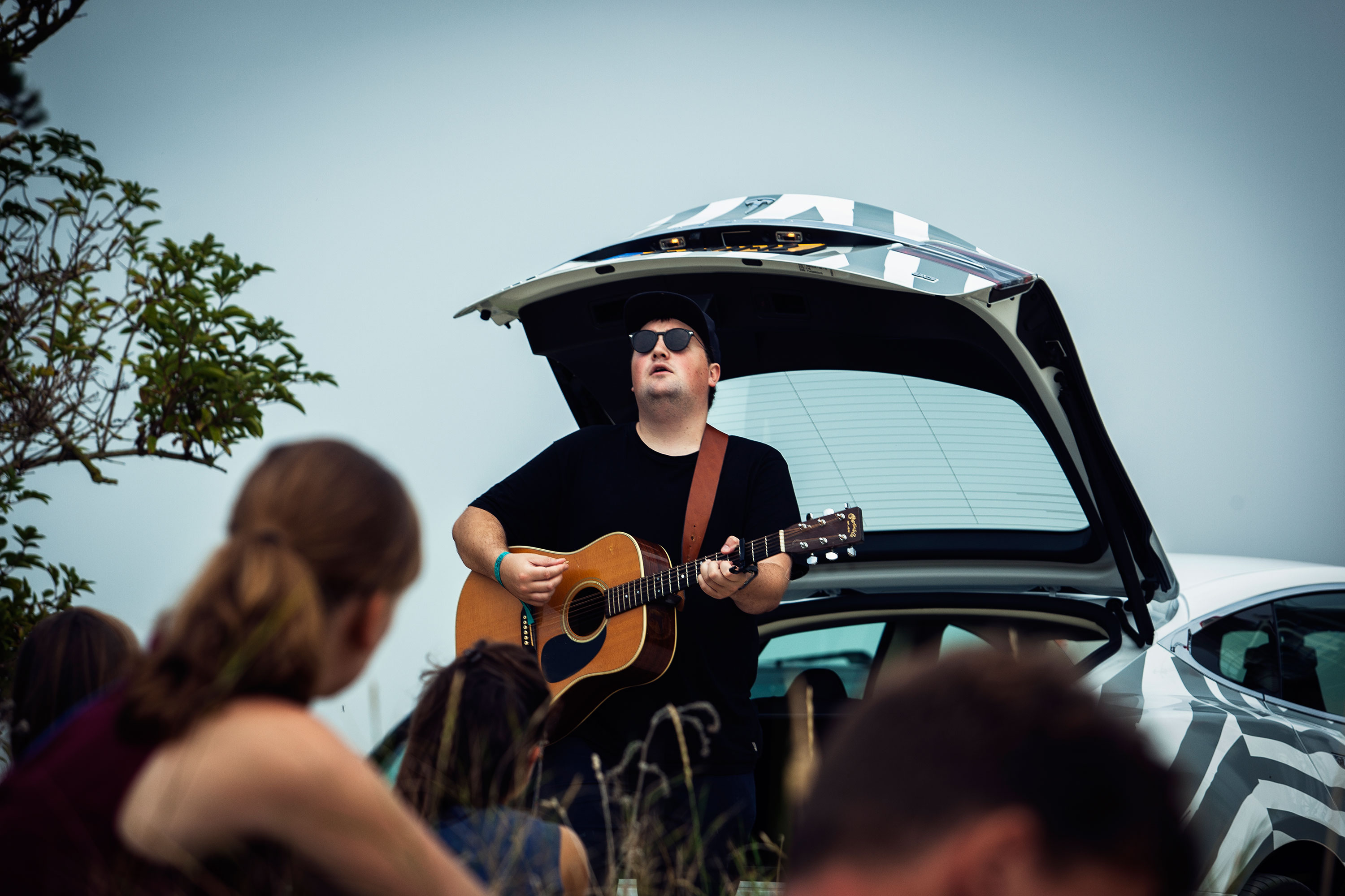 Tim Knol @ Into the Grea Wide Open door Juri Hiensch