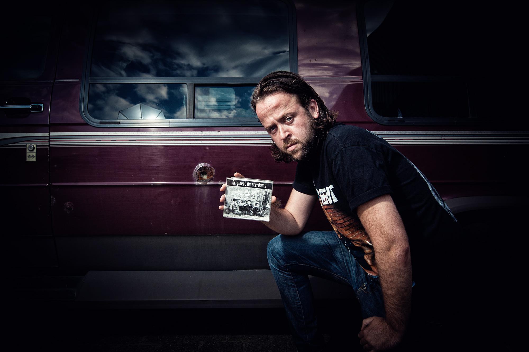 Portretfoto David van Unen - team Singlefeestje