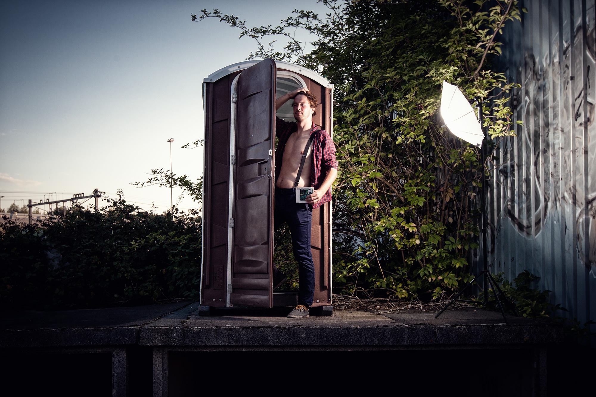 Portretfoto Jorn Akkermans van Singlefeestje