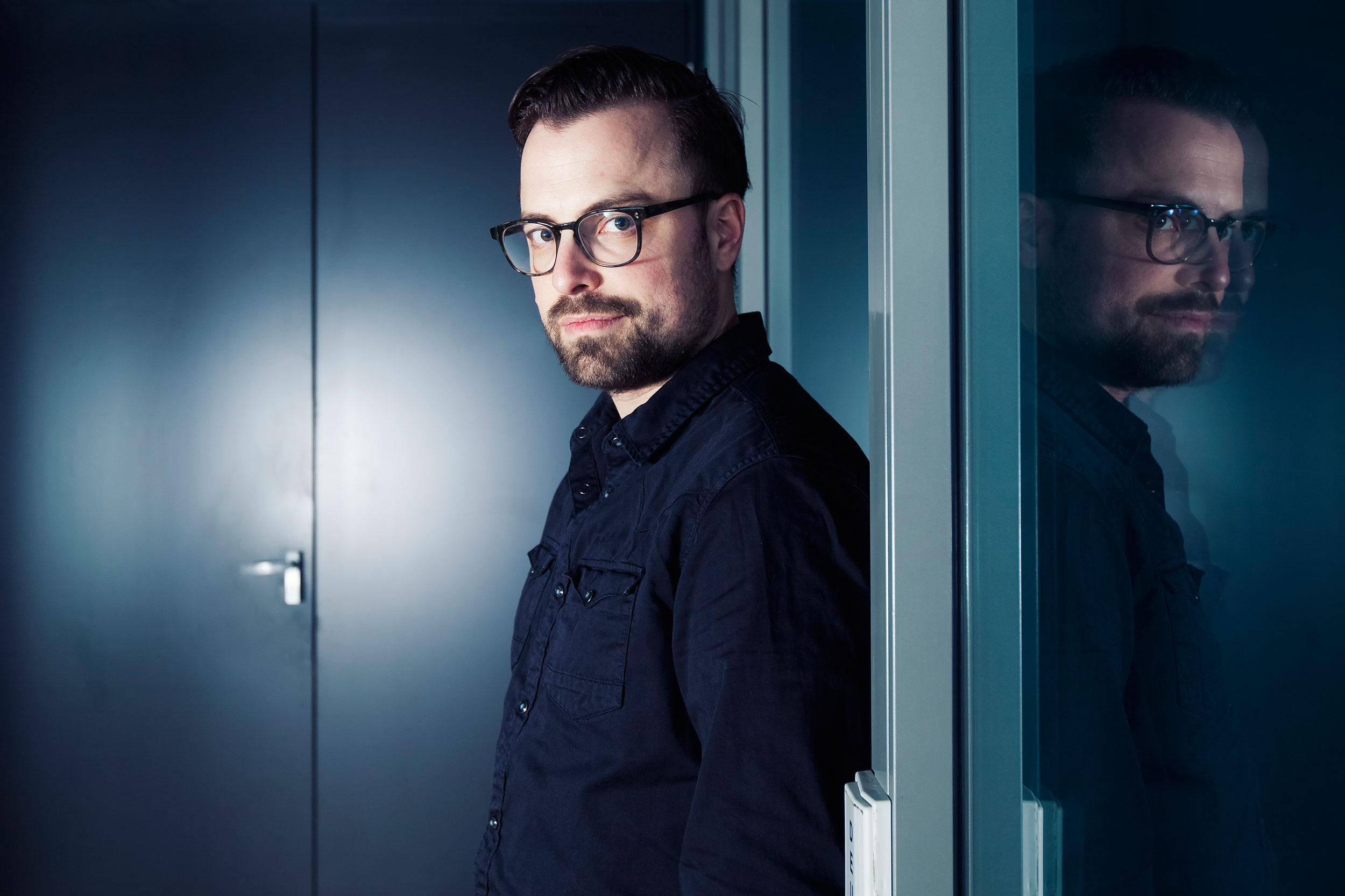 Portretfoto Gideon van gelder door fotograaf Juri Hiensch uit Utrecht