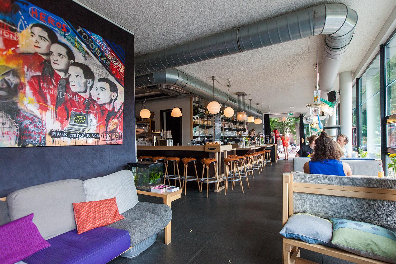 Foto Café Arnhem door fotograaf Juri Hiensch