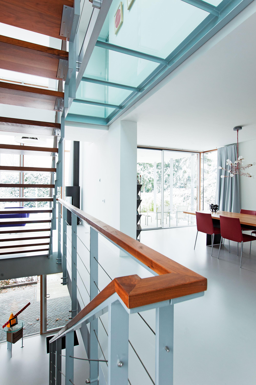 Interieurfoto trap Matser door Juri Hiensch